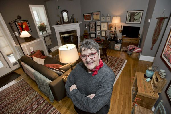 West Mount Airy homeowner creates a gallery of her life