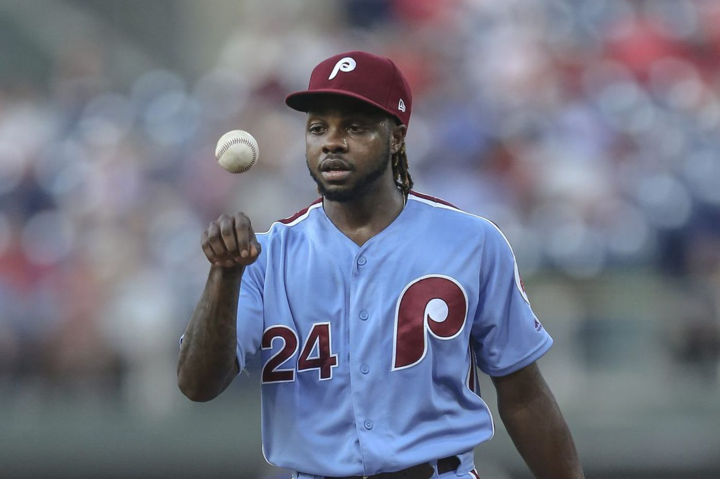 Phillies' Roman Quinn sits out Sunday with hamstring injury