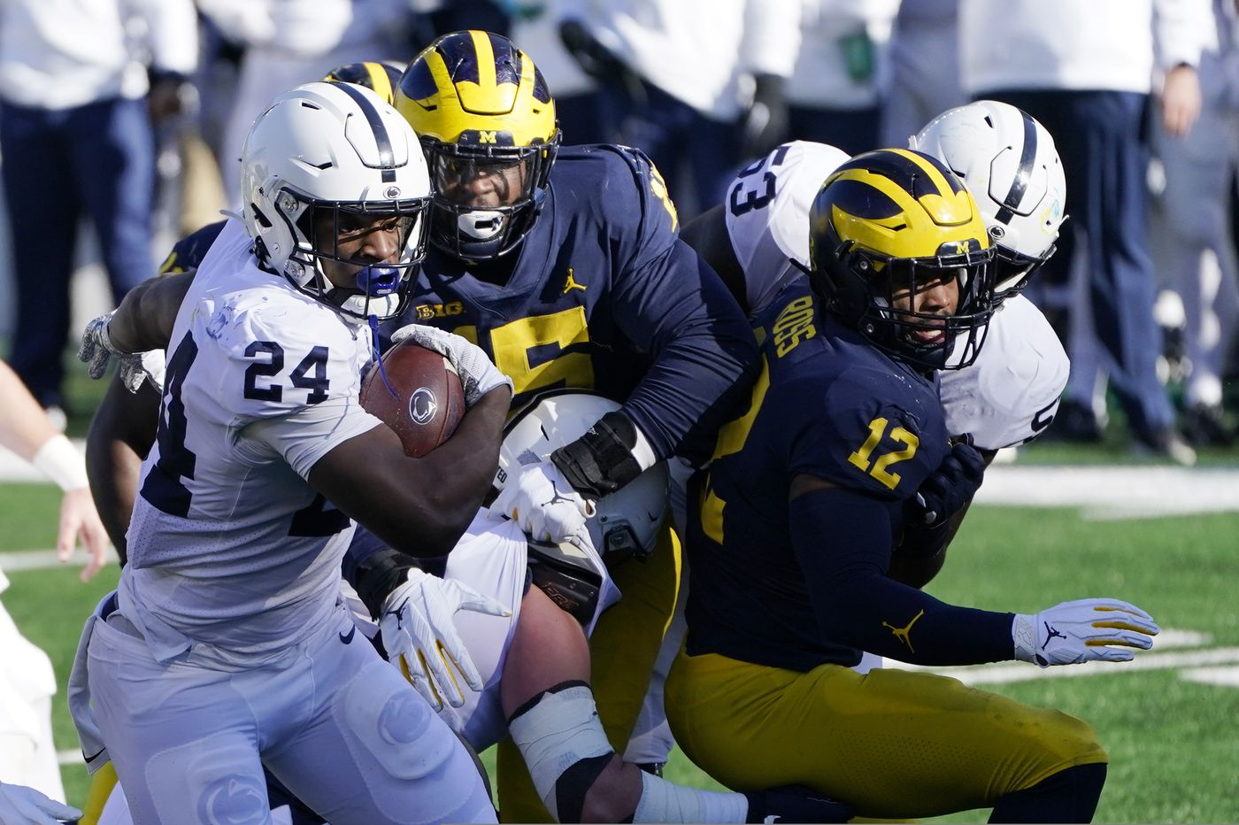 Penn State 27, Michigan 17: Four takes on the Nittany Lions' first victory of the season