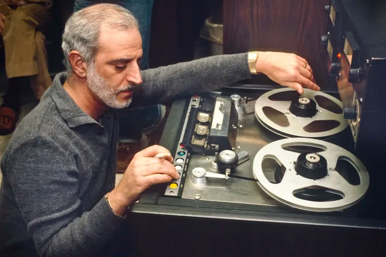 Former Sigma Sound Studios owner and engineer Joe Tarsia in 1981 photo. He hosted the party August 5, 2018 on the 50th anniversary of its opening. They were the studio where most of the the great Gamble and Huff Sound of Philadelphia music was recorded. COPY PHOTO -DO NOT CREDIT TOM GRALISH / Staff Photographer / CREDIT – Courtesy Arthur Stoppe