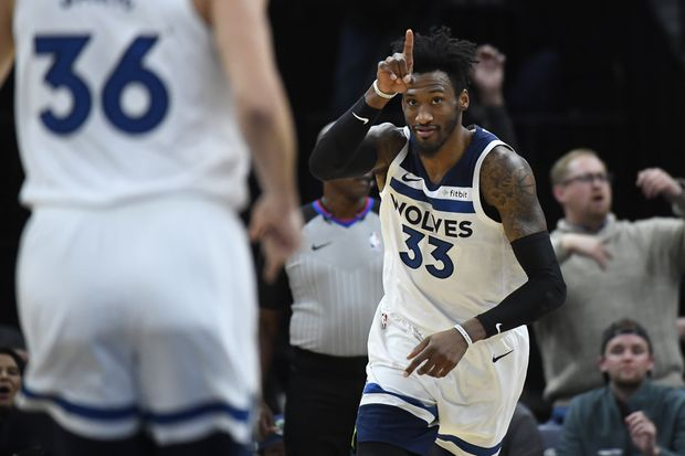 Ex-Sixer Robert Covington on getting traded to the Timberwolves: 'I found out on social media'