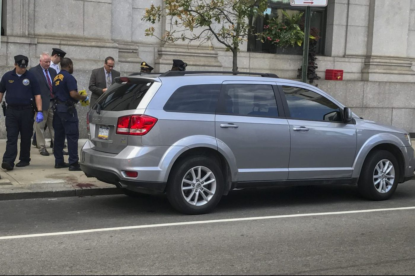 Tot finds gun in SUV, accidentally shoots uncle in Center City