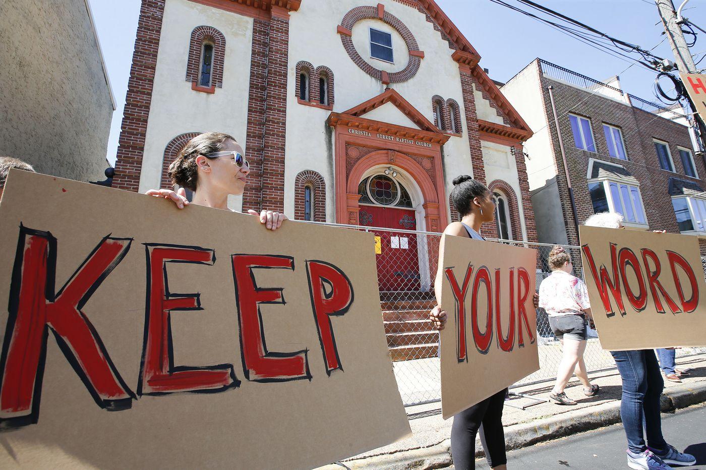 Developer Ori Feibush: I'm walking away from the Bella Vista church after I demolish it