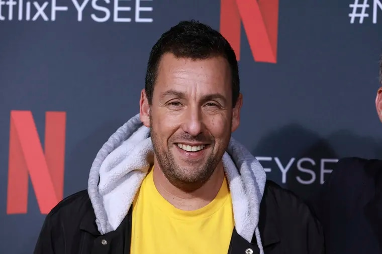 """This 2019 file photo shows Adam Sandler at the """"Adam Sandler: 100% Fresh"""" FYC event in Los Angeles."""