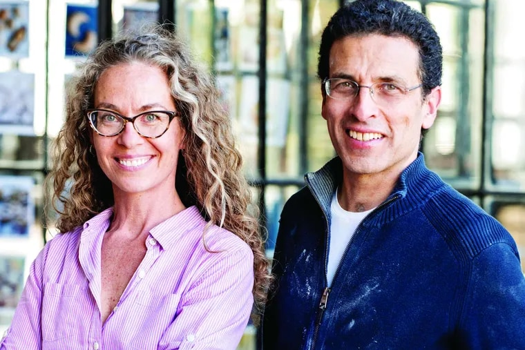 """Zoe Francois and Jeff Hertzberg, authors of """"The New Healthy Bread in Five Minutes a Day."""""""