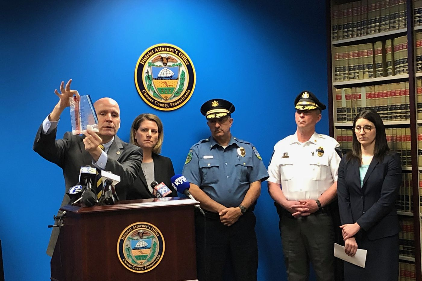 Powerful, pure crystal meth 'back with a vengeance' in Chester County, DA says