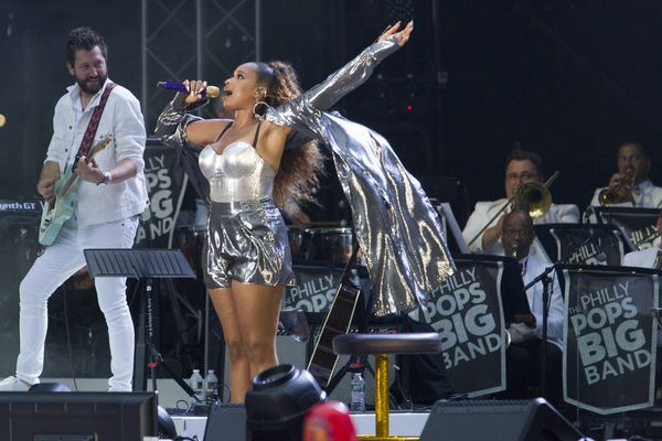 Review: Meghan Trainor and Jennifer Hudson's 4th of July performance on the Ben Franklin Parkway