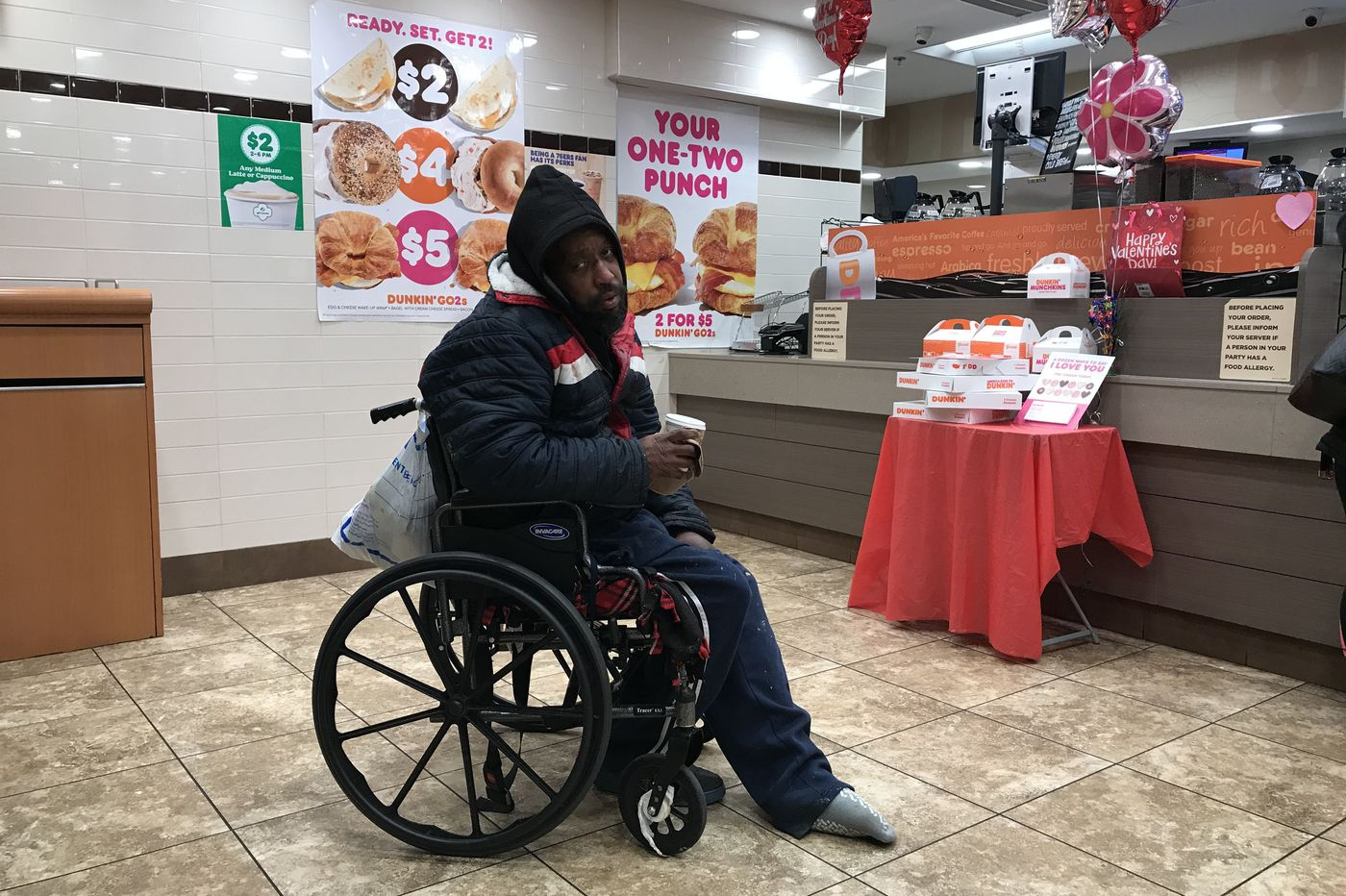 Police interaction with man in wheelchair again raises concerns about handling of homeless at Suburban Station