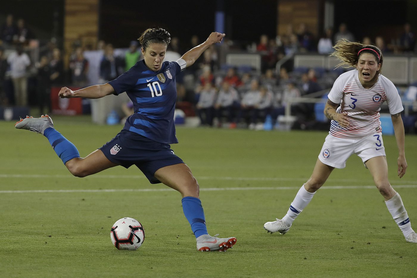 Carli Lloyd, Julie Ertz on USWNT roster for women's World Cup qualifying