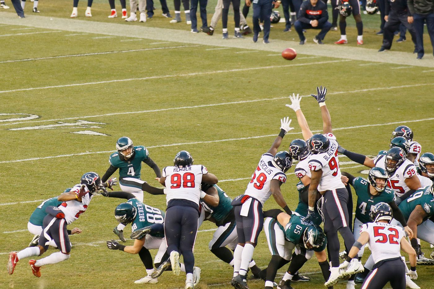 Inside the Eagles' game-winning drive vs. the Texans: 'This was a special one tonight'
