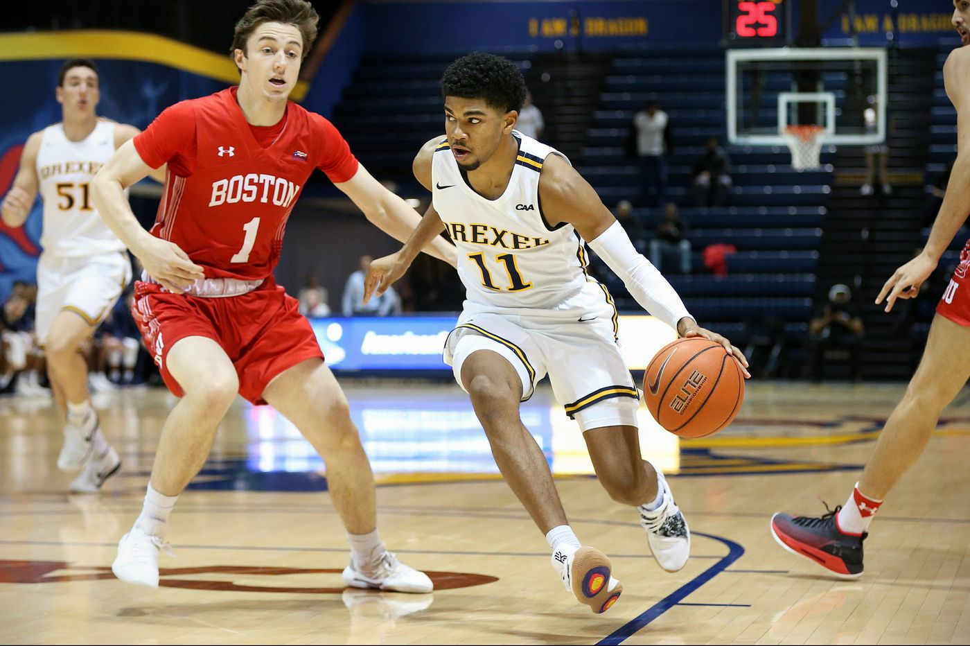 Camren Wynter leads Drexel over Boston U.