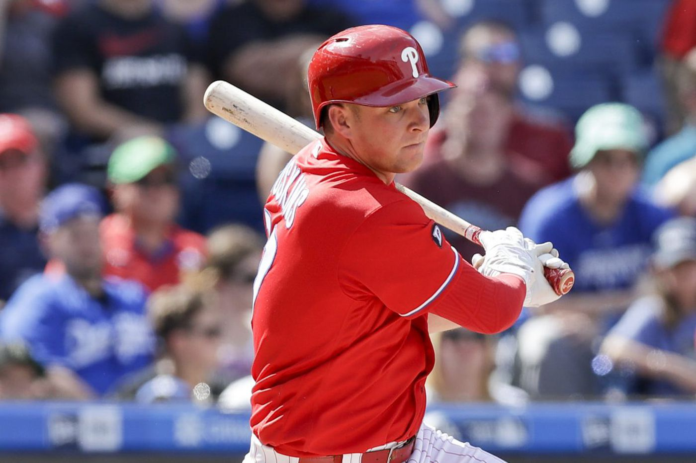 Phillies' Rhys Hoskins excited to play for new manager Gabe Kapler
