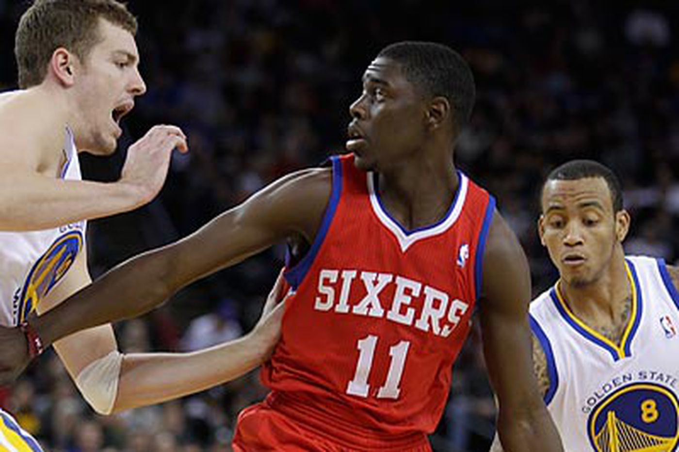 Warriors too much for Sixers