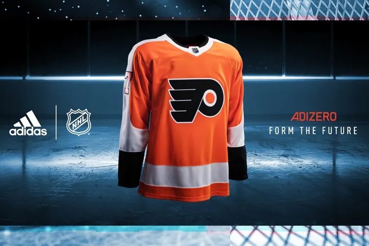 Flyers unveil new jersey for 2017-18 season