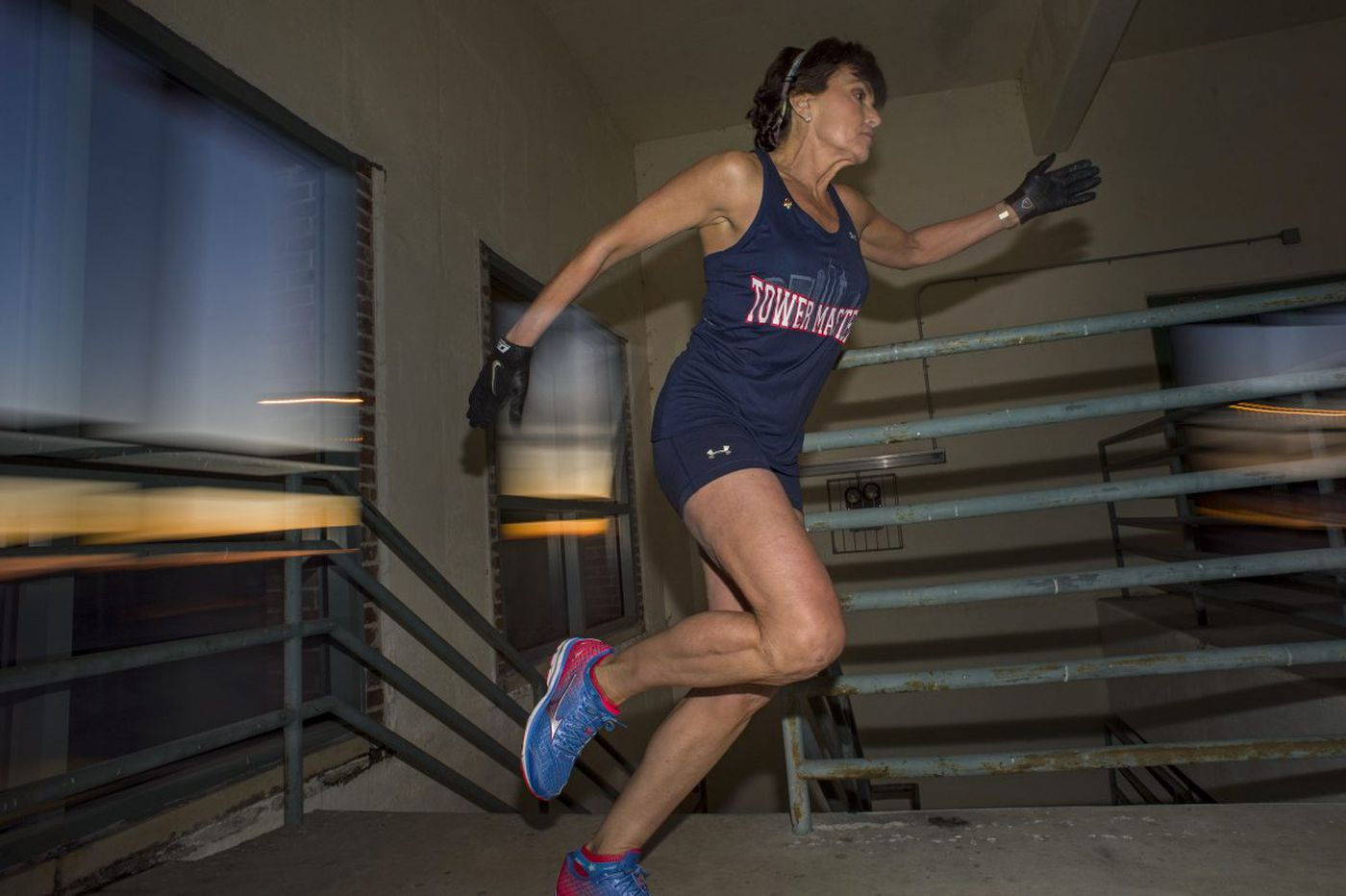 Jersey Shore cancer survivor races up stairs to inspire others, taking her to the top of the Eiffel Tower