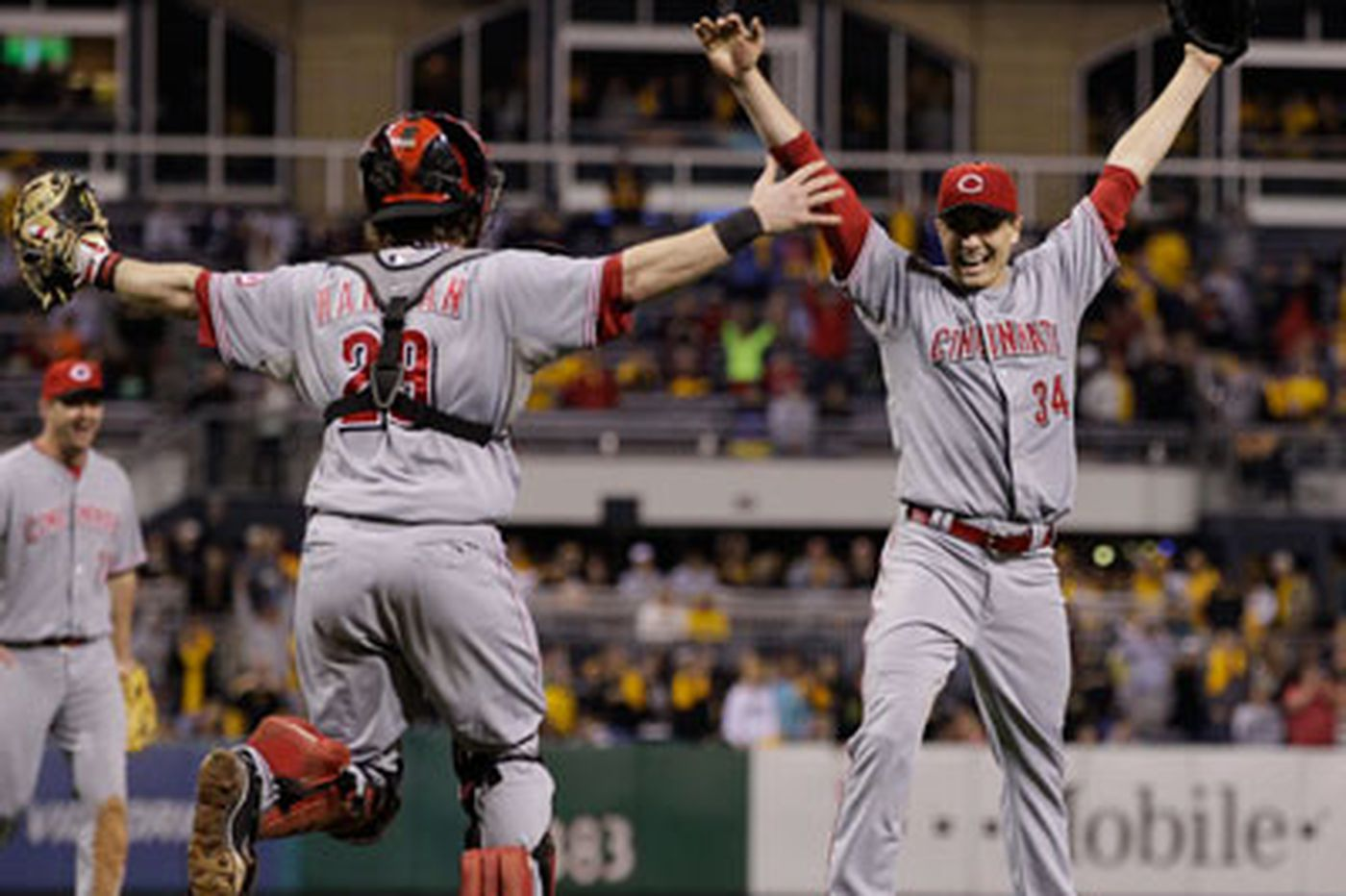 Touch 'Em All: Reds' Homer Bailey philosophical about no-hitter