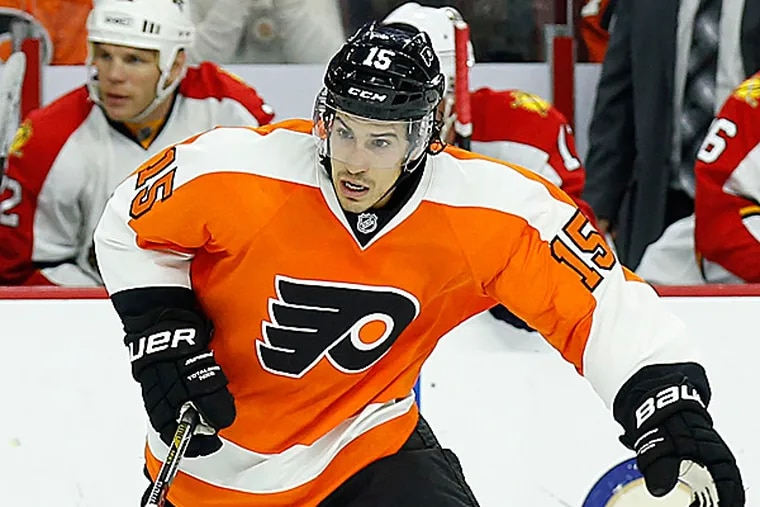 Flyers defenseman Michael Del Zotto. (Yong Kim/Staff Photographer)