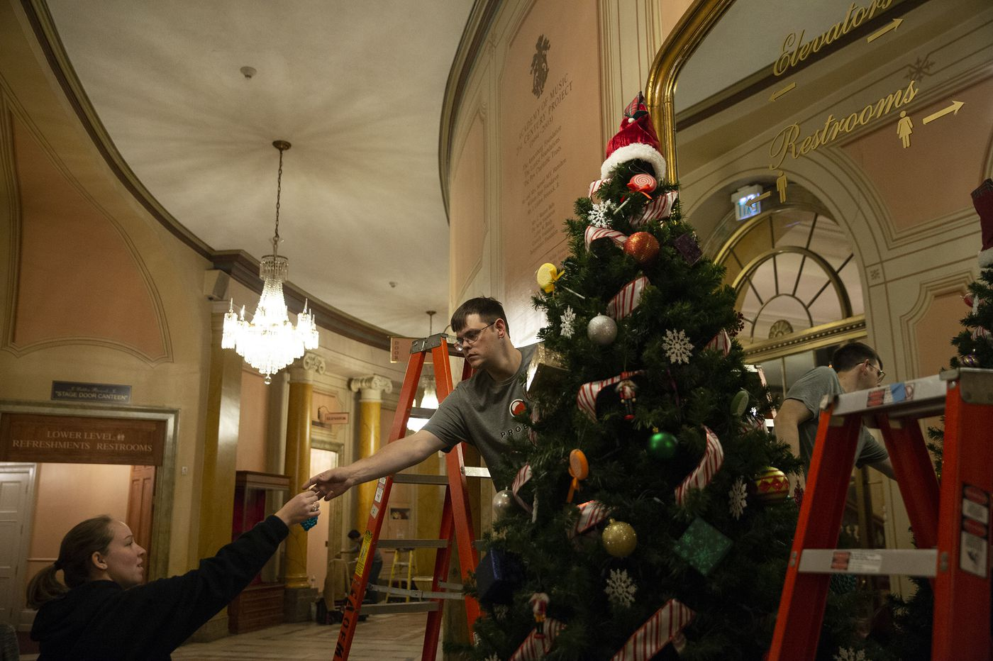 Christmas whiff: A custom 'Nutcracker' scent will infuse the Academy of Music lobby