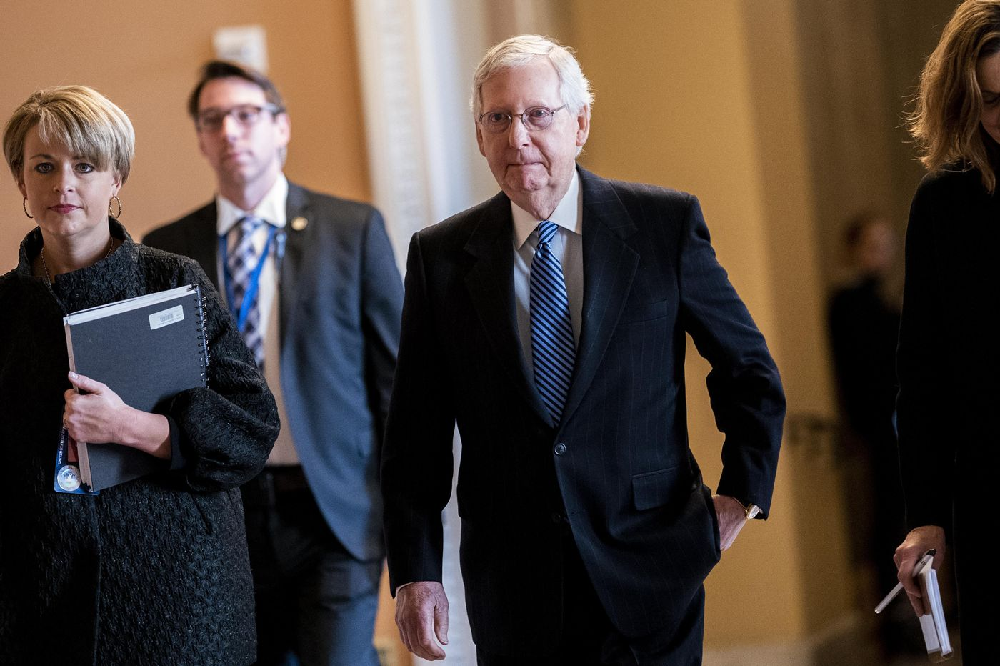 Mitch McConnell doesn't care what you think. He just wants to win.