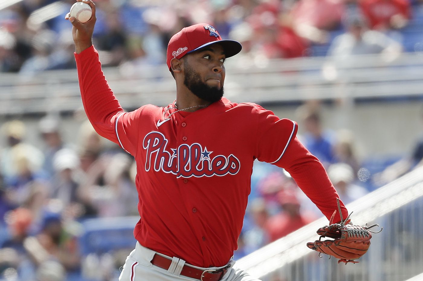 Phillies reliever Seranthony Dominguez likely headed for Tommy John surgery