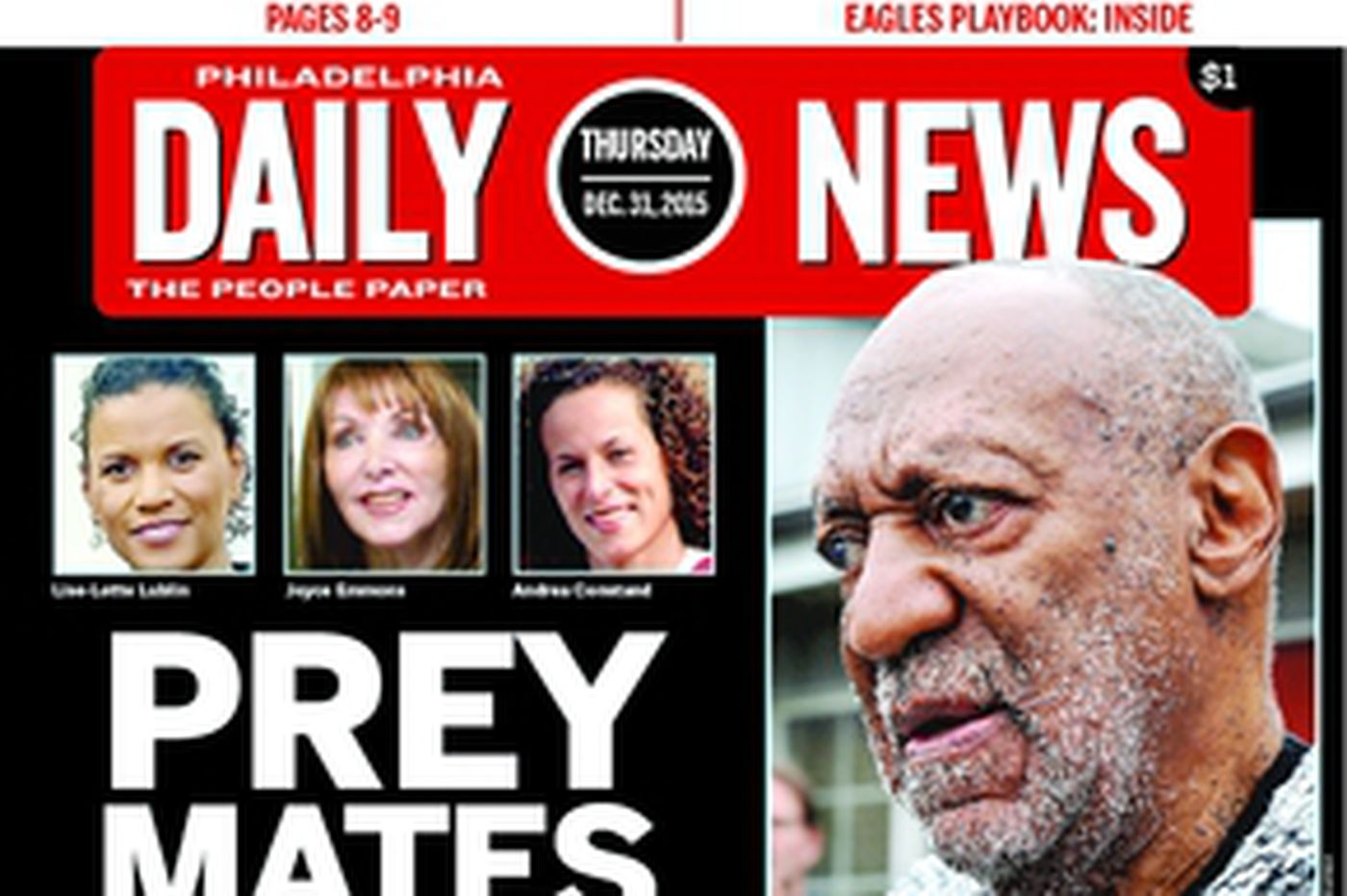 Dailynews Monthly Covers 12/31/15