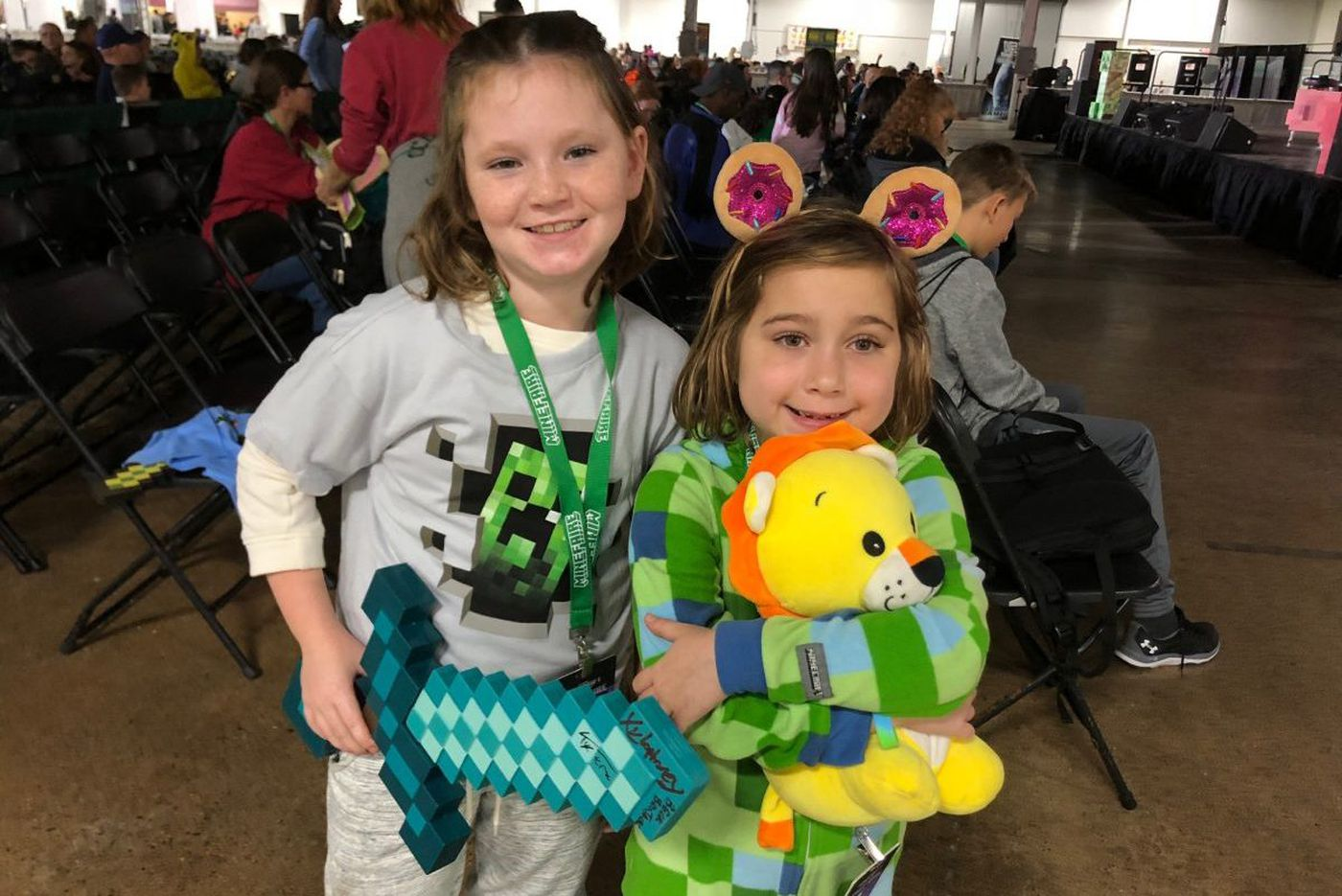 Minefaire isn't just for those obsessed with Minecraft. It's for their parents (and grandparents), too.