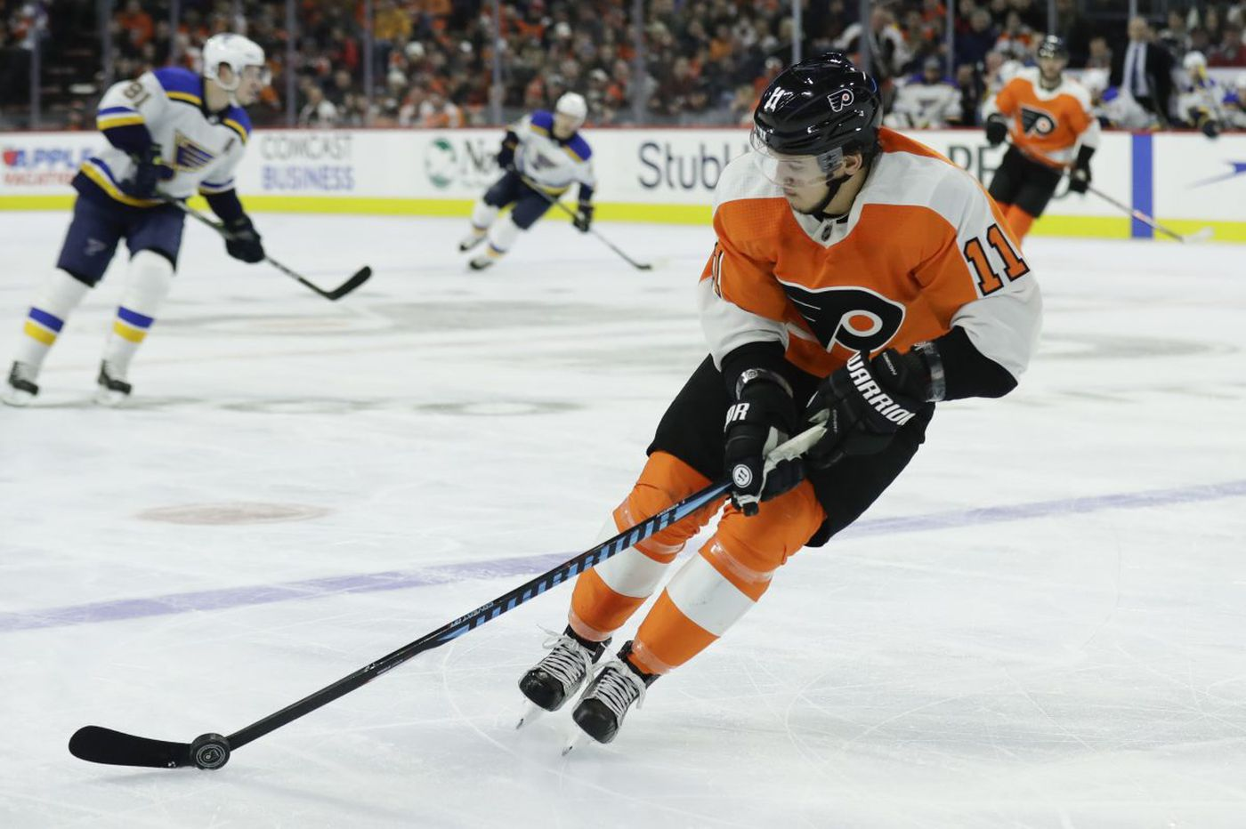 Flyers-Red Wings preview: Travis Konecny red-hot