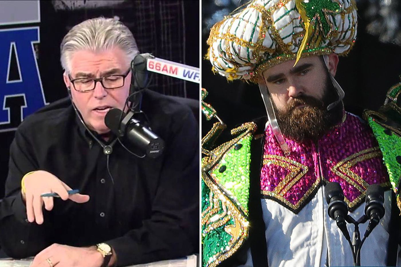 Mike Francesa called Jason Kelce a 'moron.' Now he's changing his tune