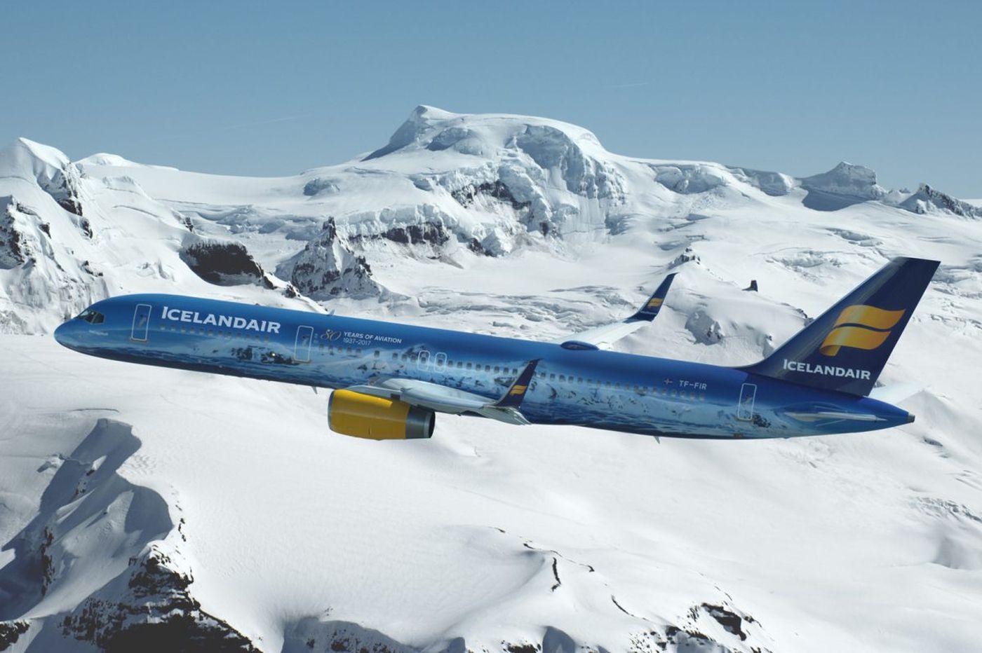 First Icelandair flight arrives at PHL