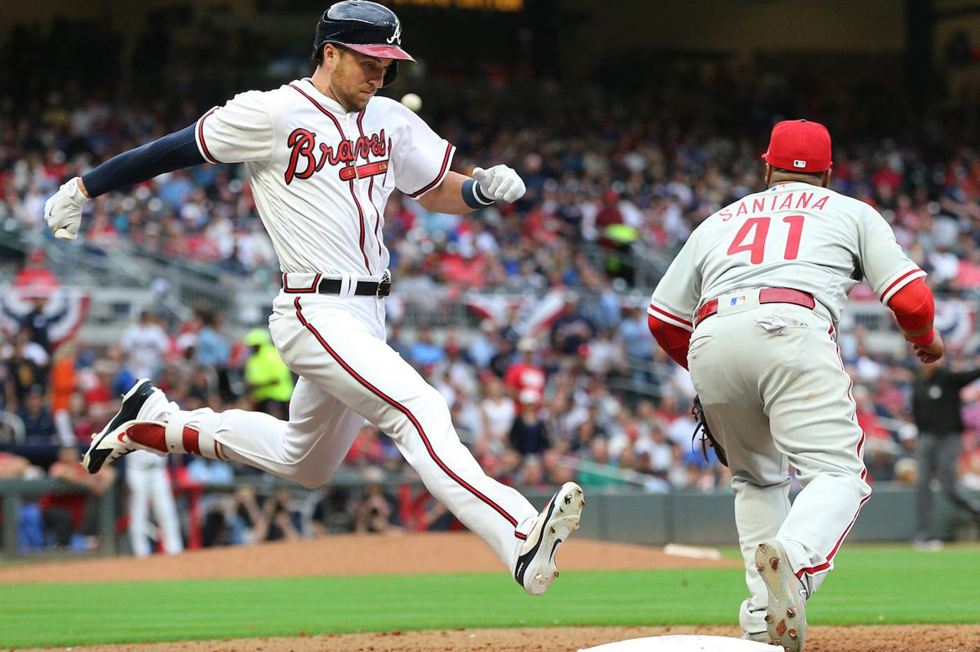 Gabe Kapler's early pull of Aaron Nola costs Phillies as bullpen yields walk-off HR to Braves