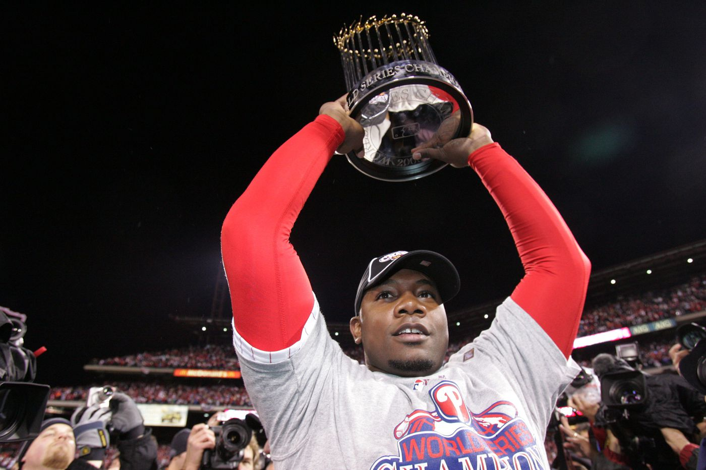 Ryan Howard, Jimmy Rollins among former Phillies set to attend 2008 World Series celebration this weekend
