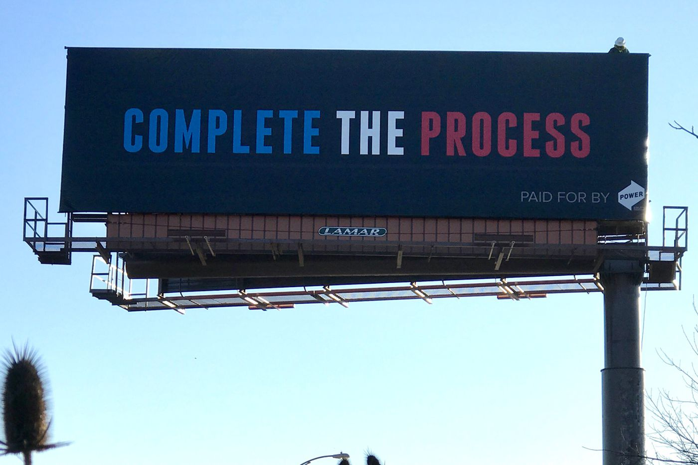 "49dbf84a2f5 The second billboard thinks LeBronJames joining the Sixers would ""complete  the process"" started by"