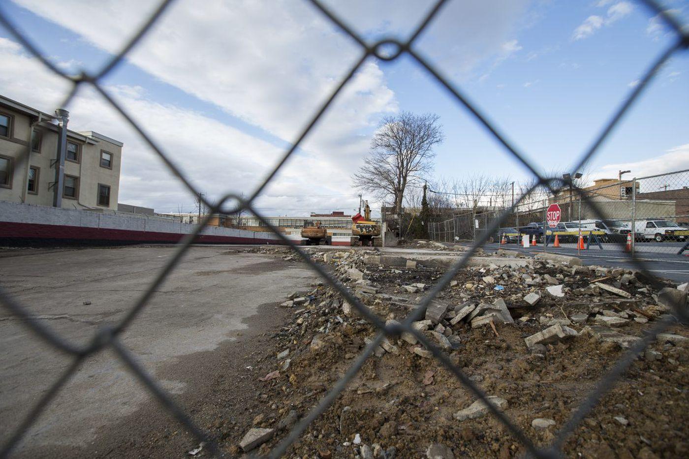 Oldest African American graveyard in West Philadelphia lies beneath proposed apartments