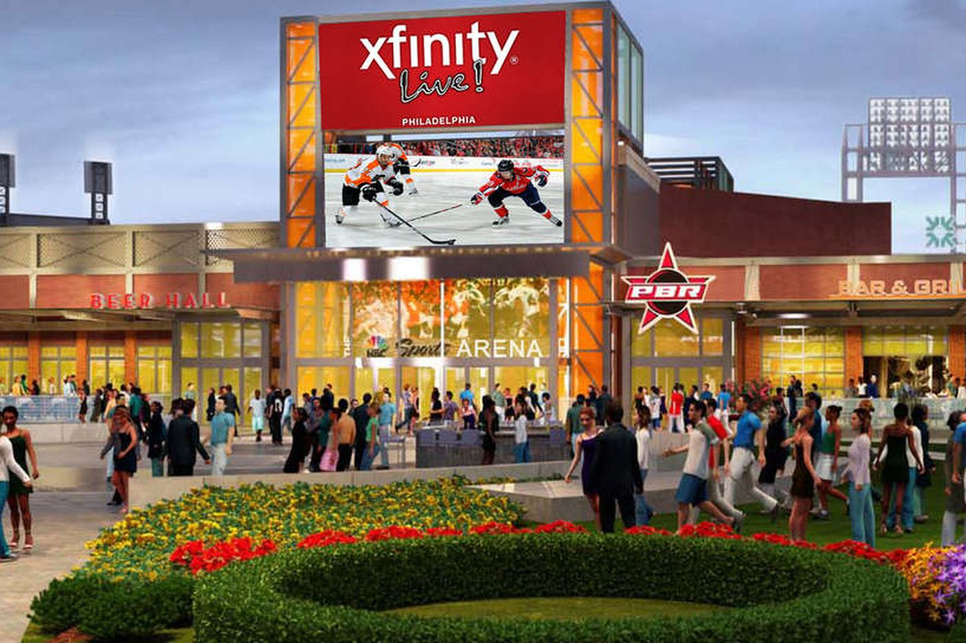 XFINITY Live! grand opening set for April 5