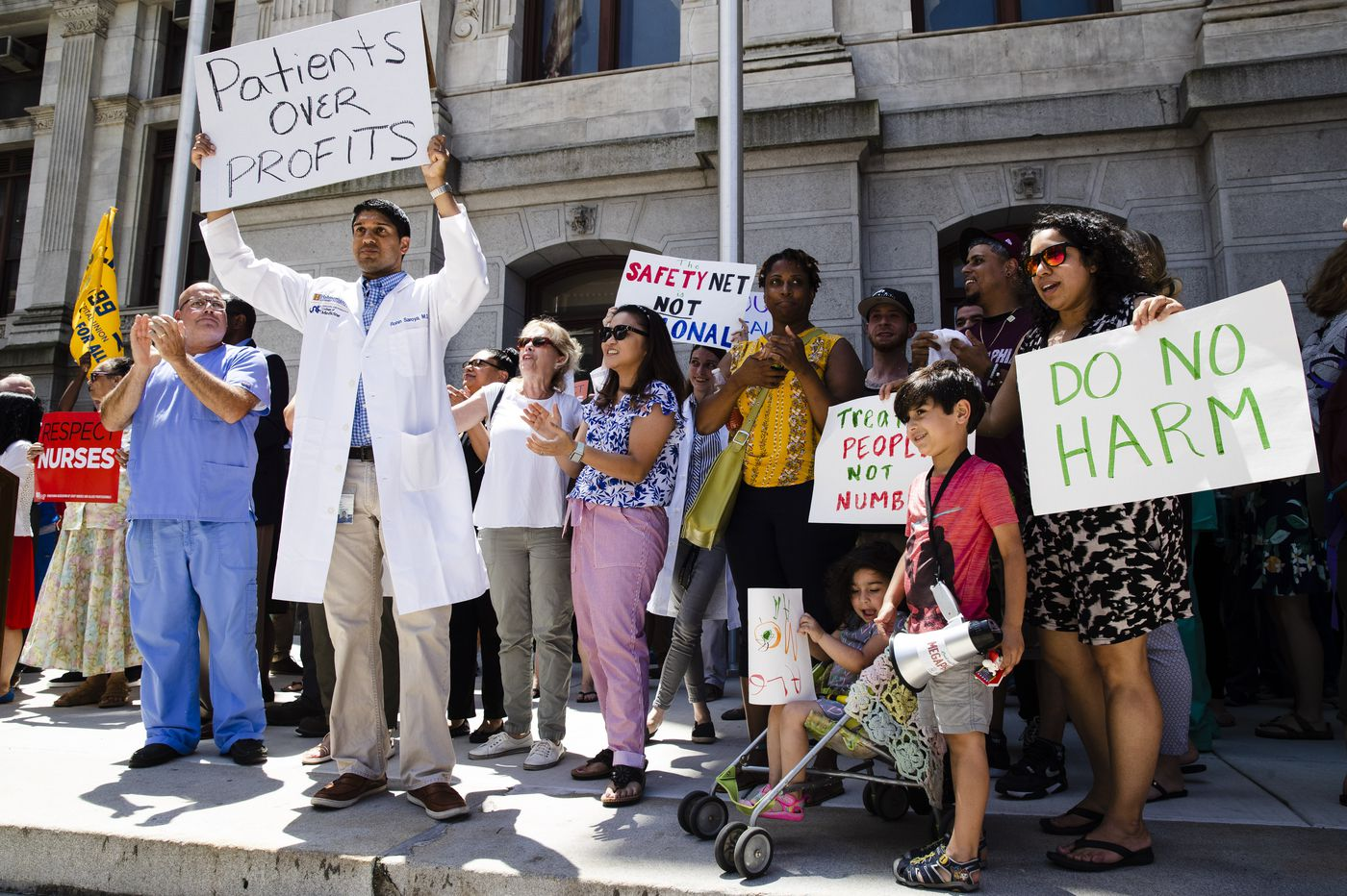 Could Medicare for All save Hahnemann and its more than 2,500 jobs? | Will Bunch