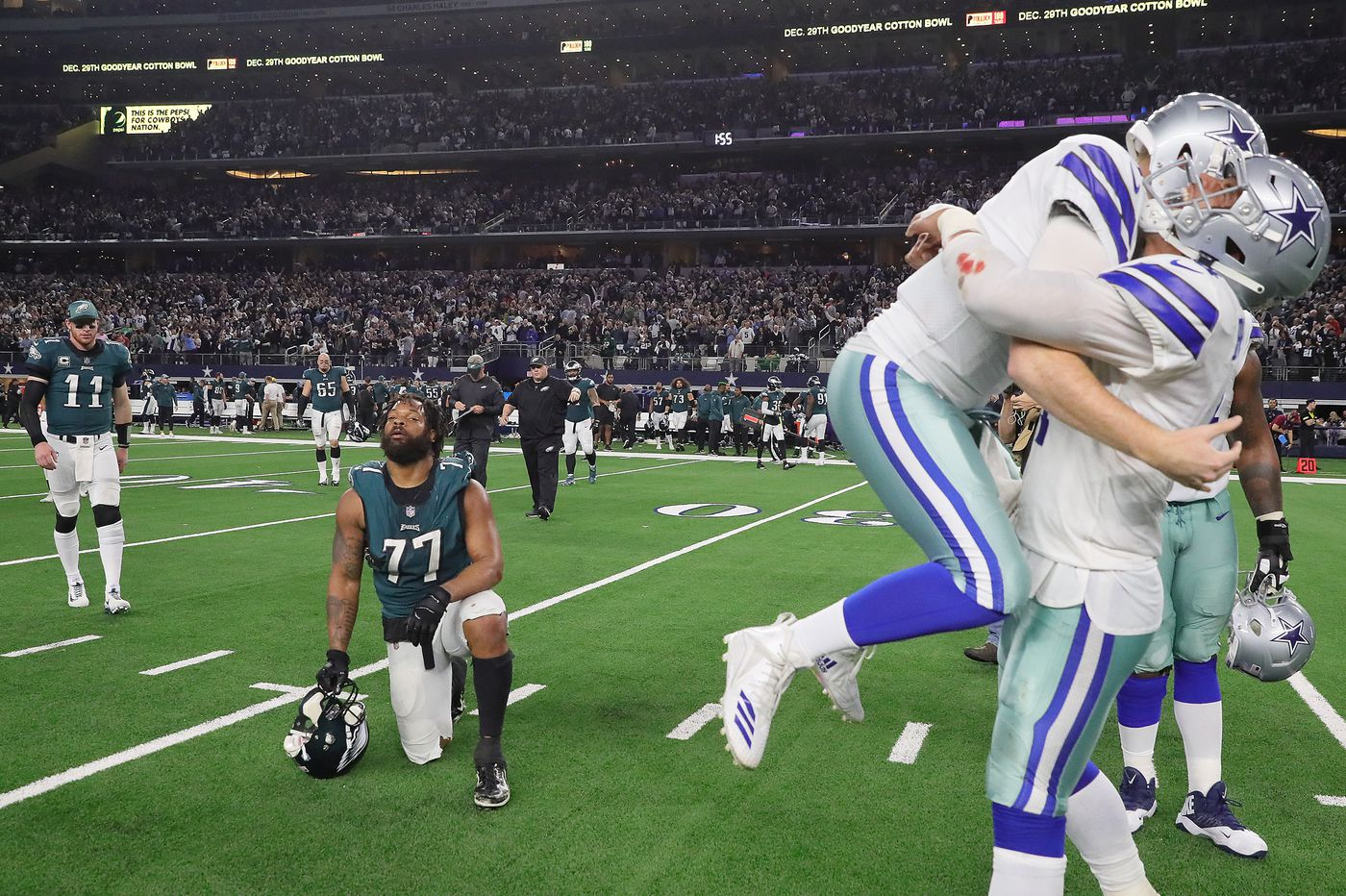 The Cowboys choked twice against the Eagles, but they didn't choke enough | Marcus Hayes