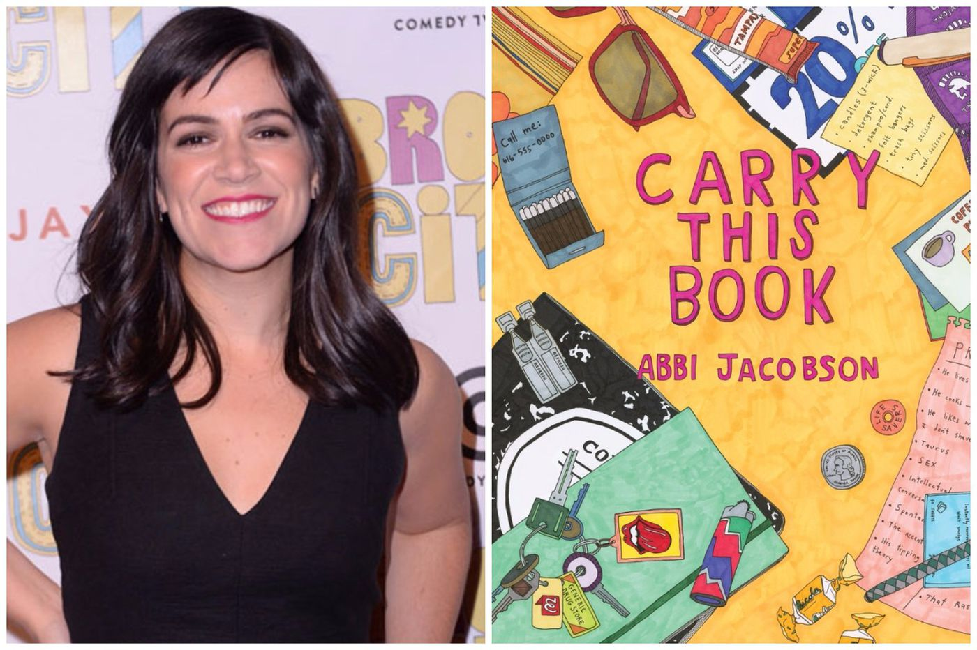 'Broad City's' Abbi Jacobson is now an author