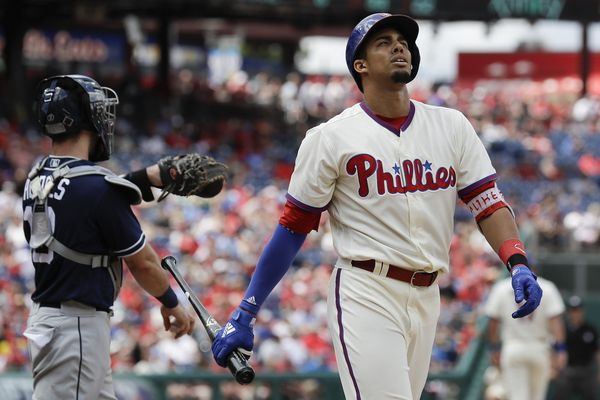 Phillies demote struggling Aaron Altherr to triple A
