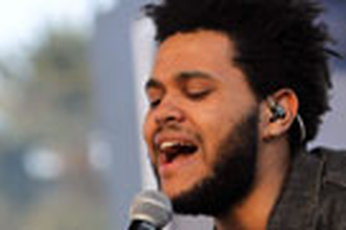 The Weeknd performs at TLA