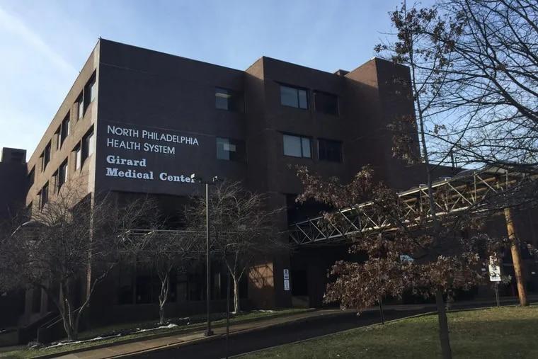Girard Medical Center, seen from West Thompson Street.