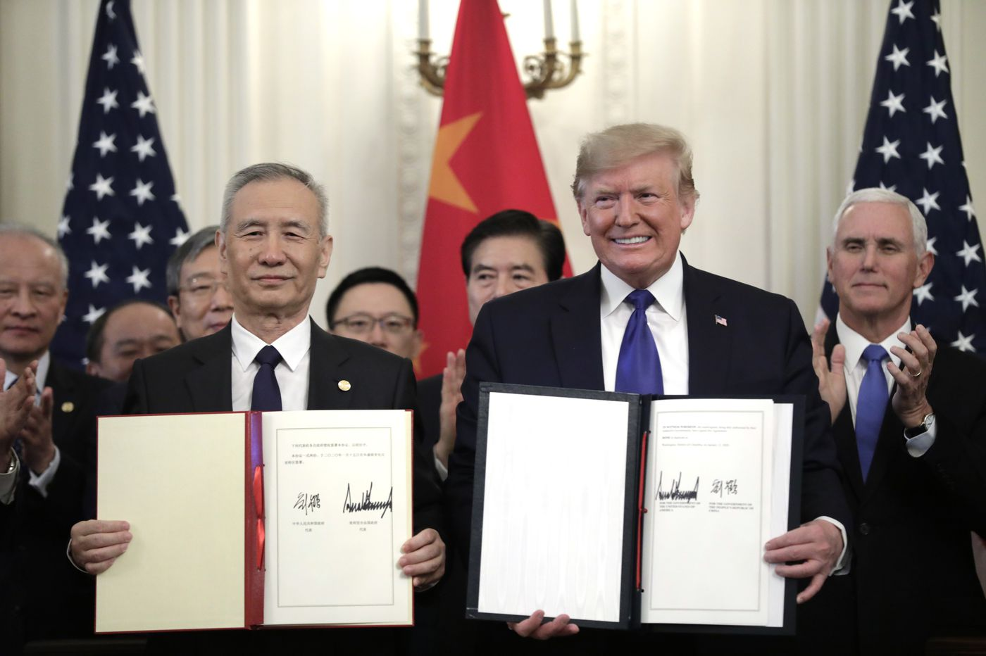 US, China deal aims to simmer long-running trade tensions