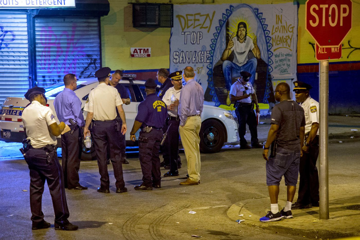 Two killed, 4 wounded in North Philly drive-by shooting