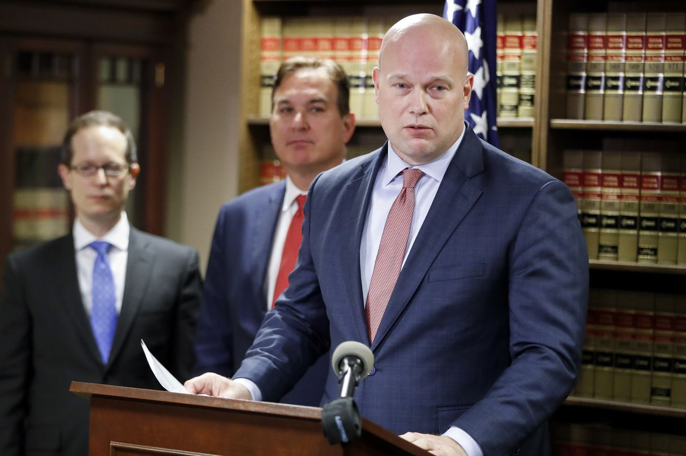 Whitaker promoted patent company for years despite early fraud complaints, records show