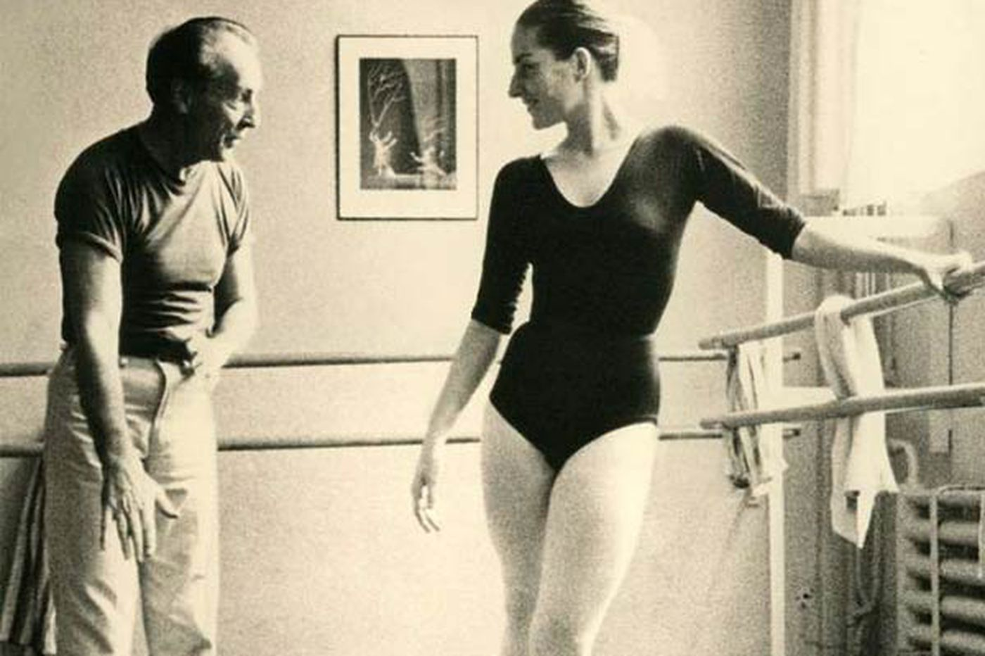 Documentary on Tanaquil Le Clercq: A dancer's life and struggle with polio