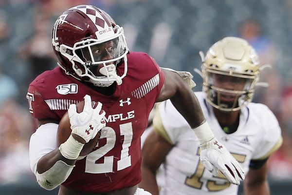 Temple RB Jager Gardner out for the season with a broken ankle