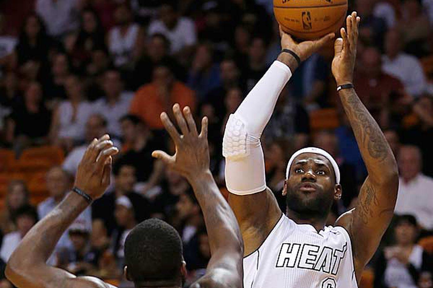 Heat avenge loss to Wizards