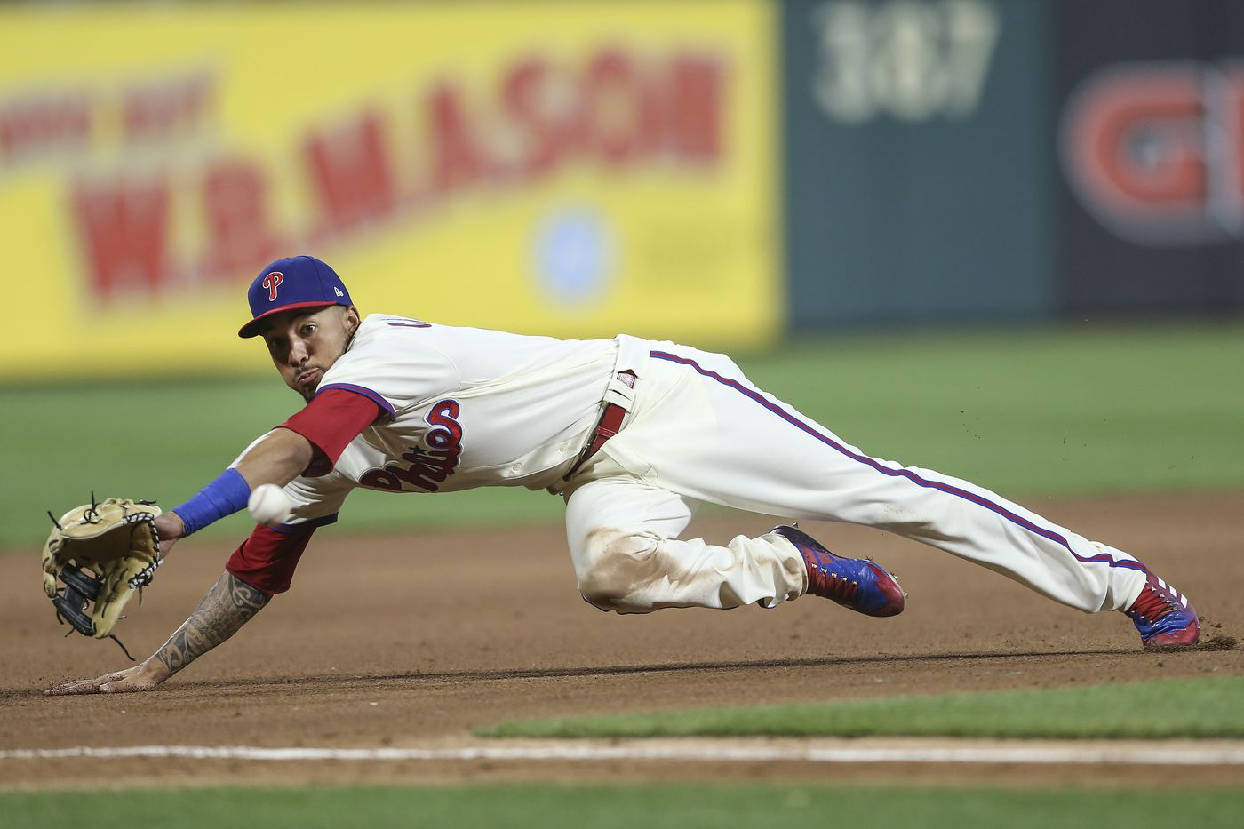 J.P. Crawford's defense at third base keeps Maikel Franco on Phillies' bench