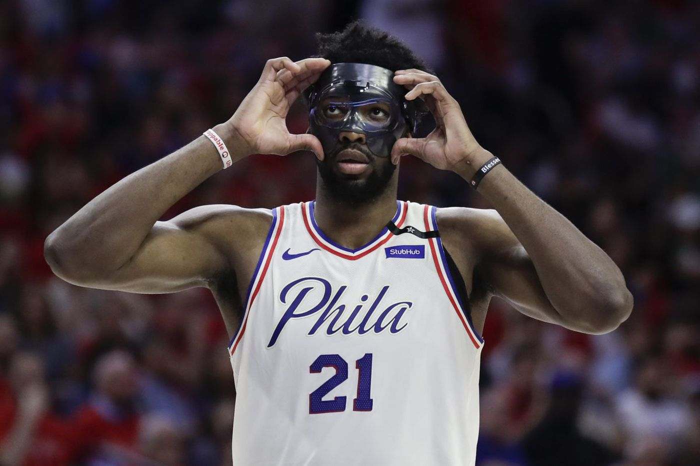 Sixers' Joel Embiid's playground antics could cost him part of his contract if he gets hurt