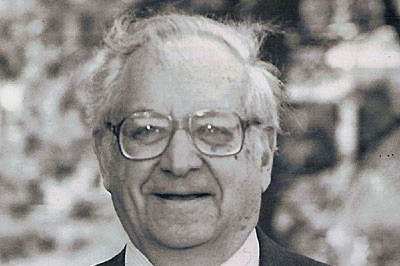Samuel M. Fisher, 85, board member, CPA