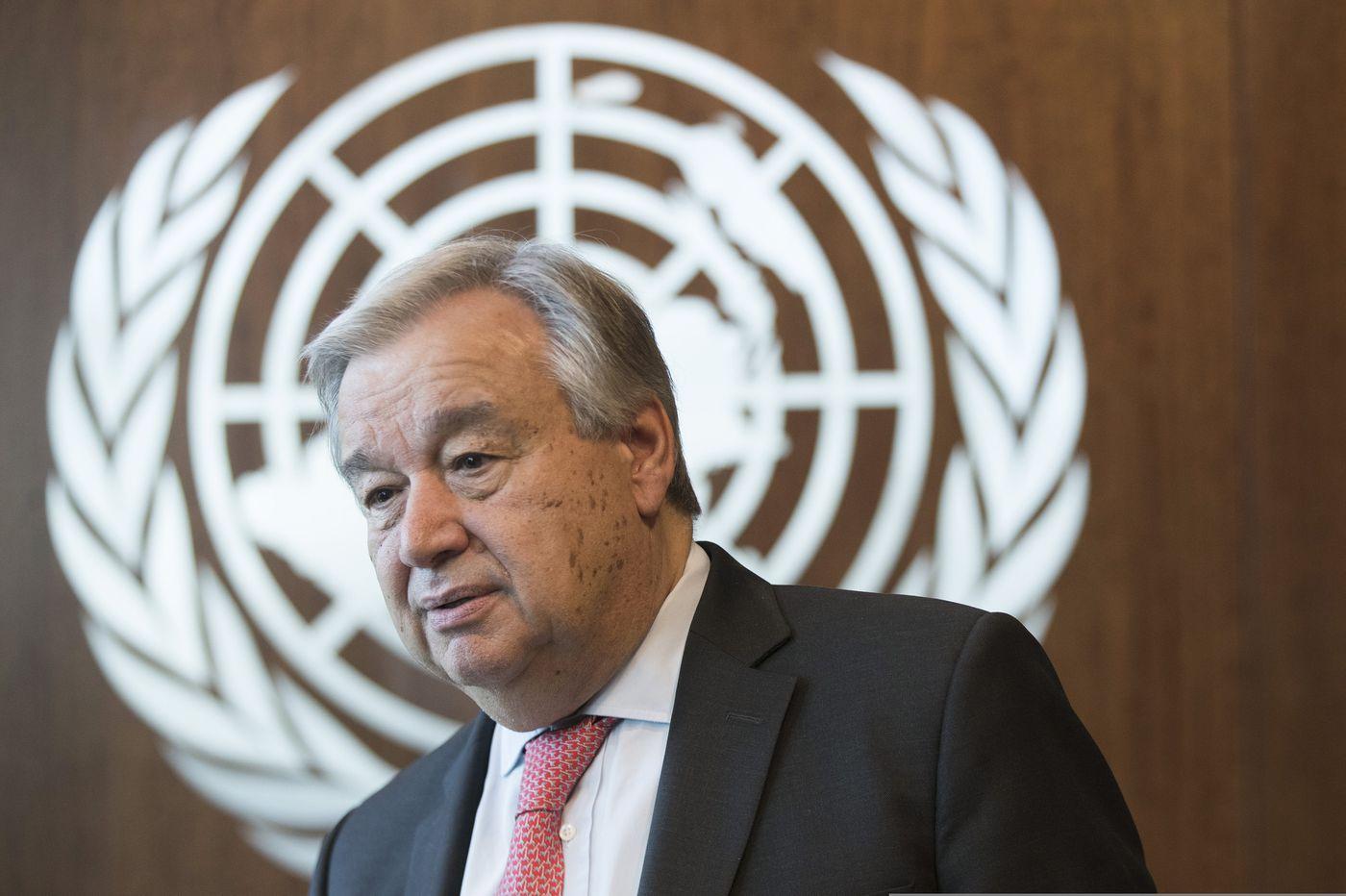 'We're losing the race:' U.N. secretary general calls climate change an emergency